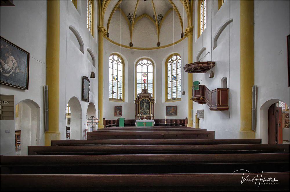 Neupfarrkirche zu Regensburg .....