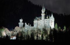 Neuschwanstein at Night