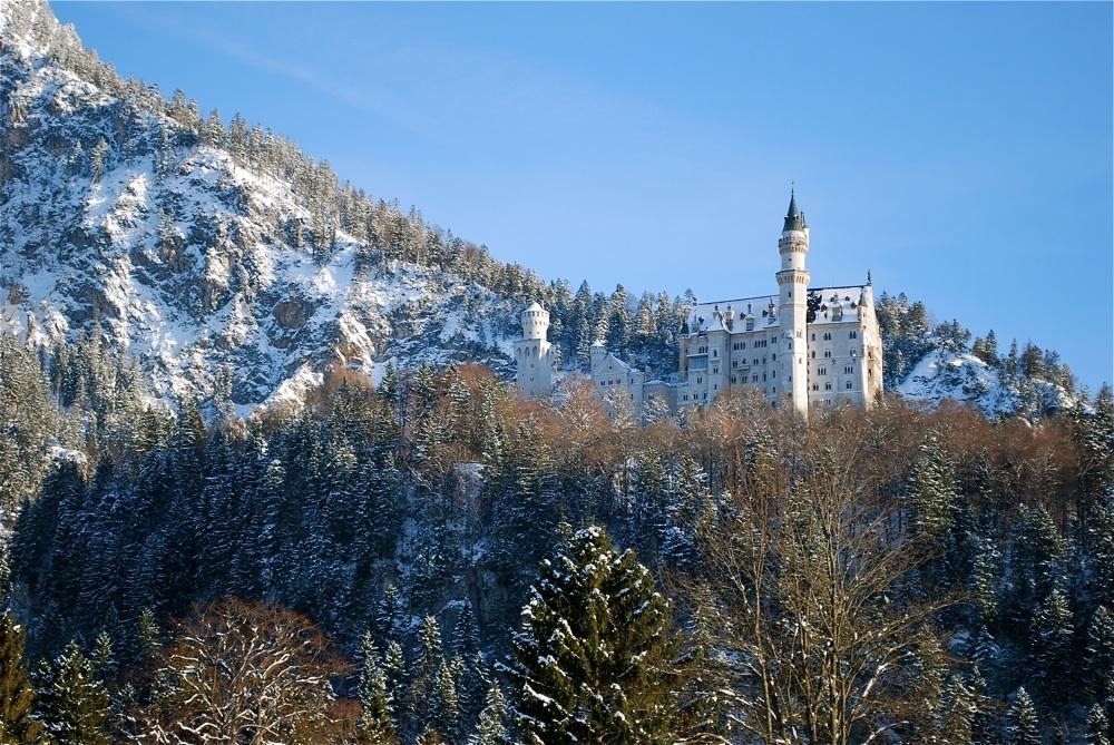 Neuschwanstein im Februar 2009