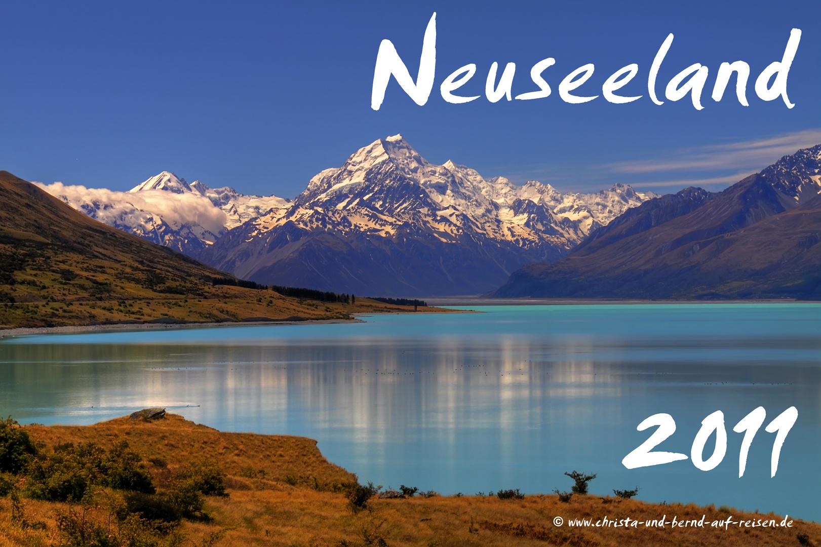 Neuseeland als Kalender 2011 (1)