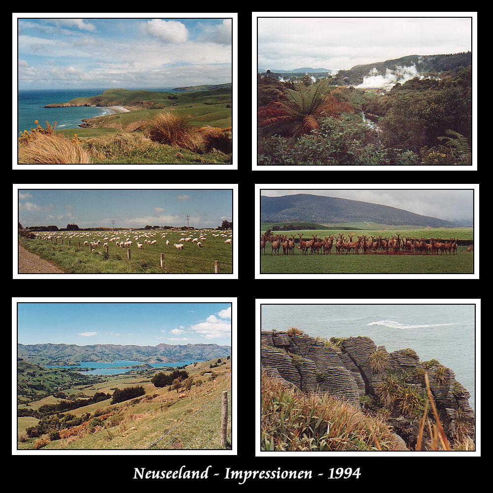 Neuseeland -Eindrücke