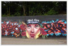 Neuss - Grafitti auf dem Konrad-Adenauer-Ring - 4