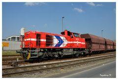 Neuss - Hafen - Güterzug
