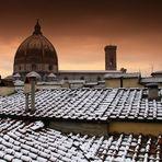 Neve a Firenze