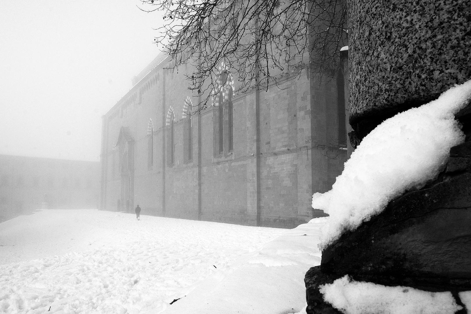 Neve ad Arezzo
