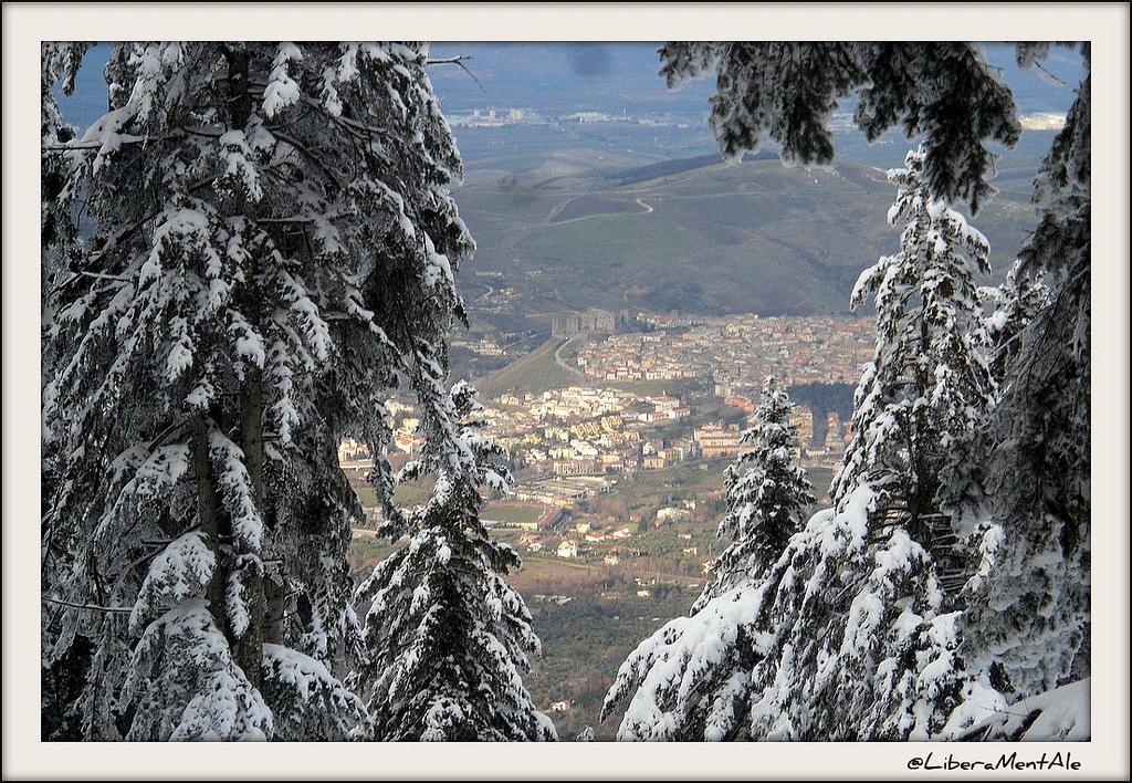 Neve Monte Vulture - Melfi - Castello di Federico II