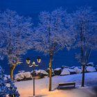 Neve sul lungolago di Desenzano