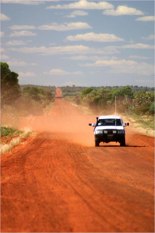 Neverending Outback Road...