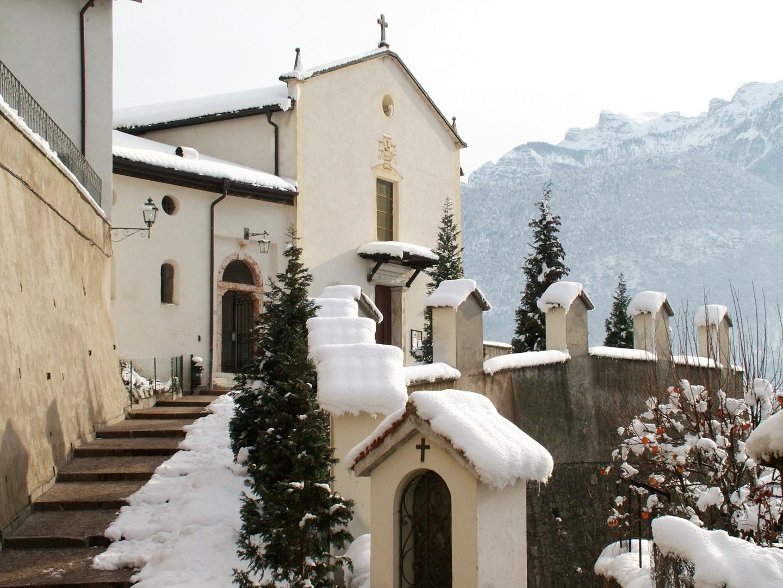 Nevicata a Borgo