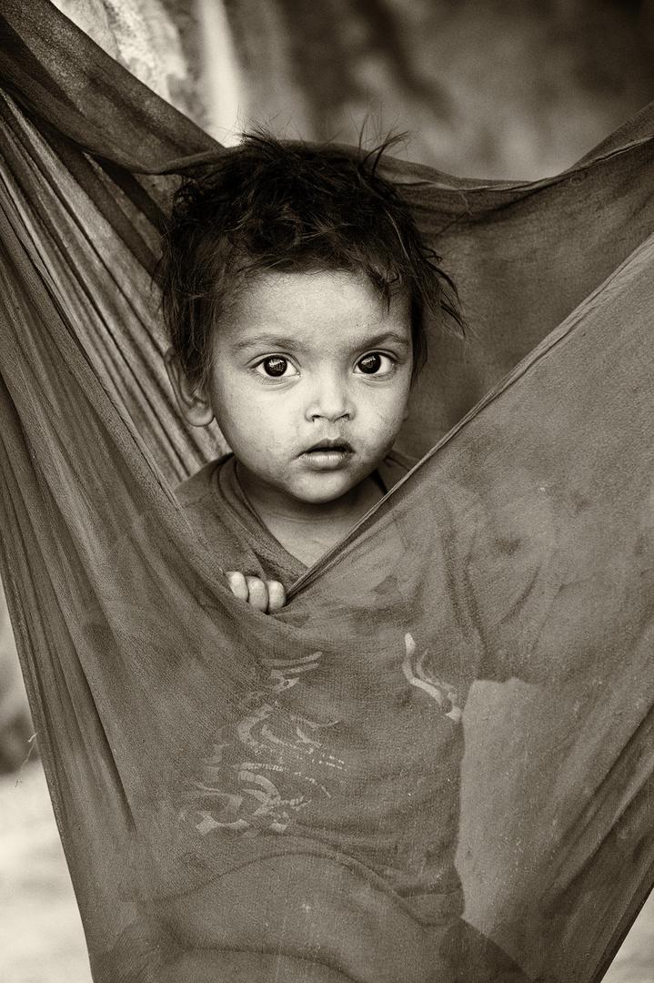 New Delhi - Slum Kid