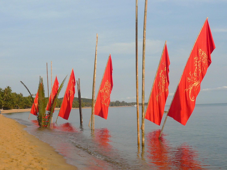 New year chenese in Koh Samui