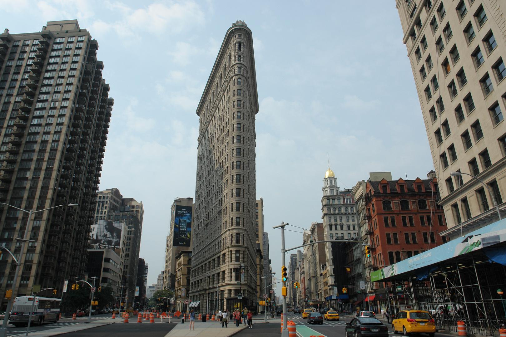 New York 2008 Flatiron Building