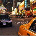 New York 2011, Broadway, nachts II (por la noche II)