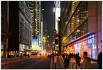 New York 2011,  West 42nd street, por la noche