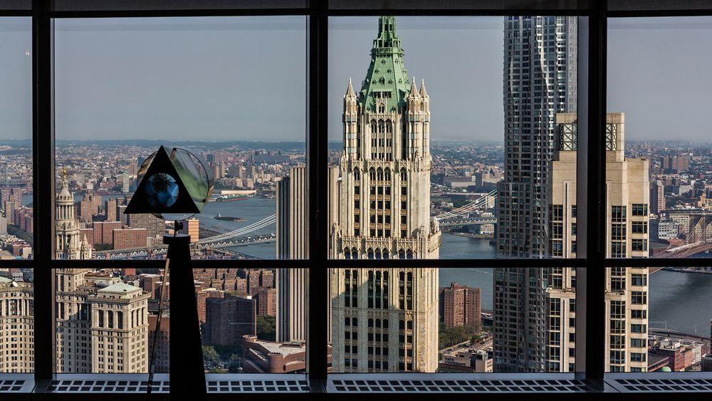 NEW YORK - Ausblick auf den EAST RIVER