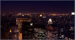 New York bei Nacht...