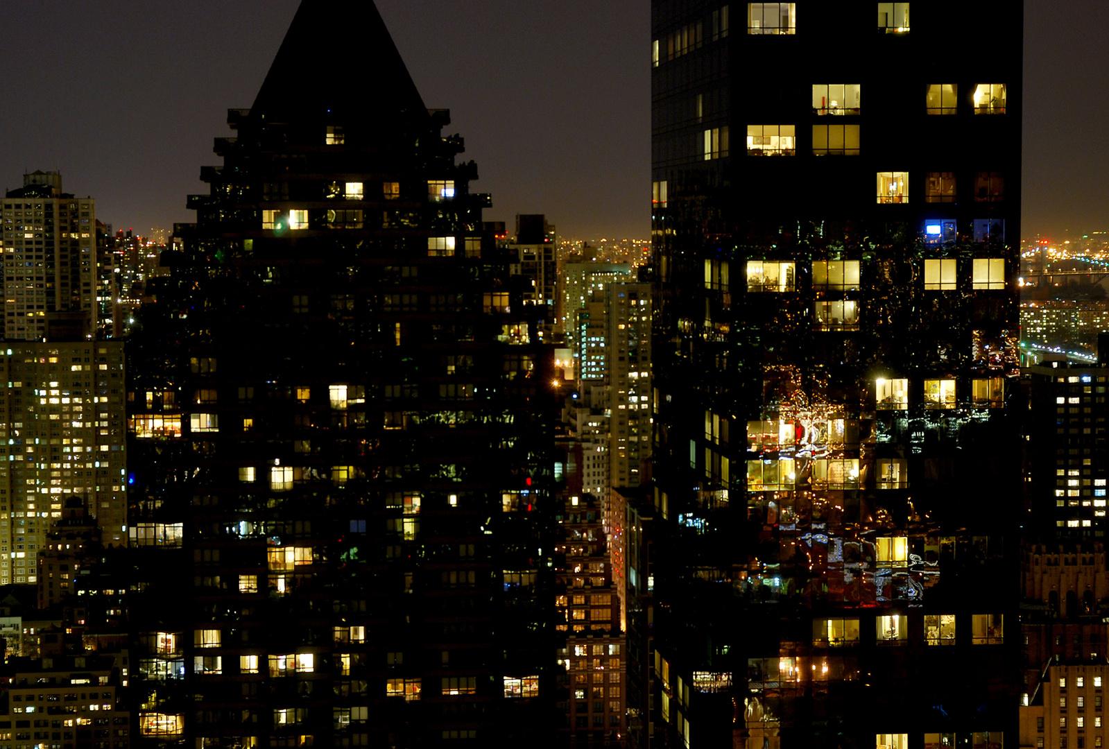 New York Blick aus dem Hotelfenster