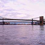 NEW YORK - Brooklyn and Manhattan Bridges