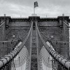 New York. Brooklyn Bridge.