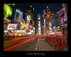 New York City - Times Square @ Night