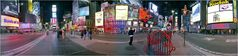 New York City - Times Square Pano