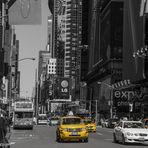 New York City und die Yellow Cabs