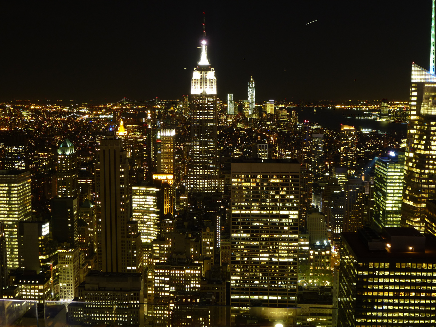 New York City vom Top of the Rock