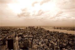 New York City .. von oben