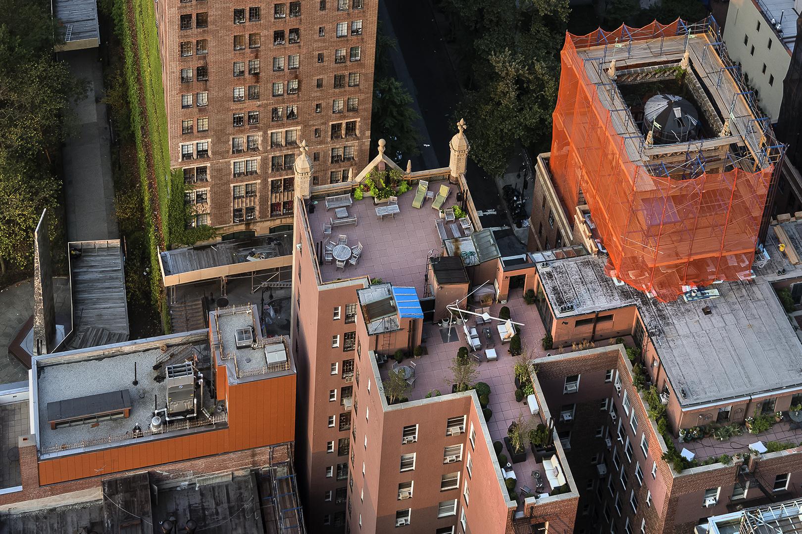 NEW YORK - DACHLANDSCHAFT