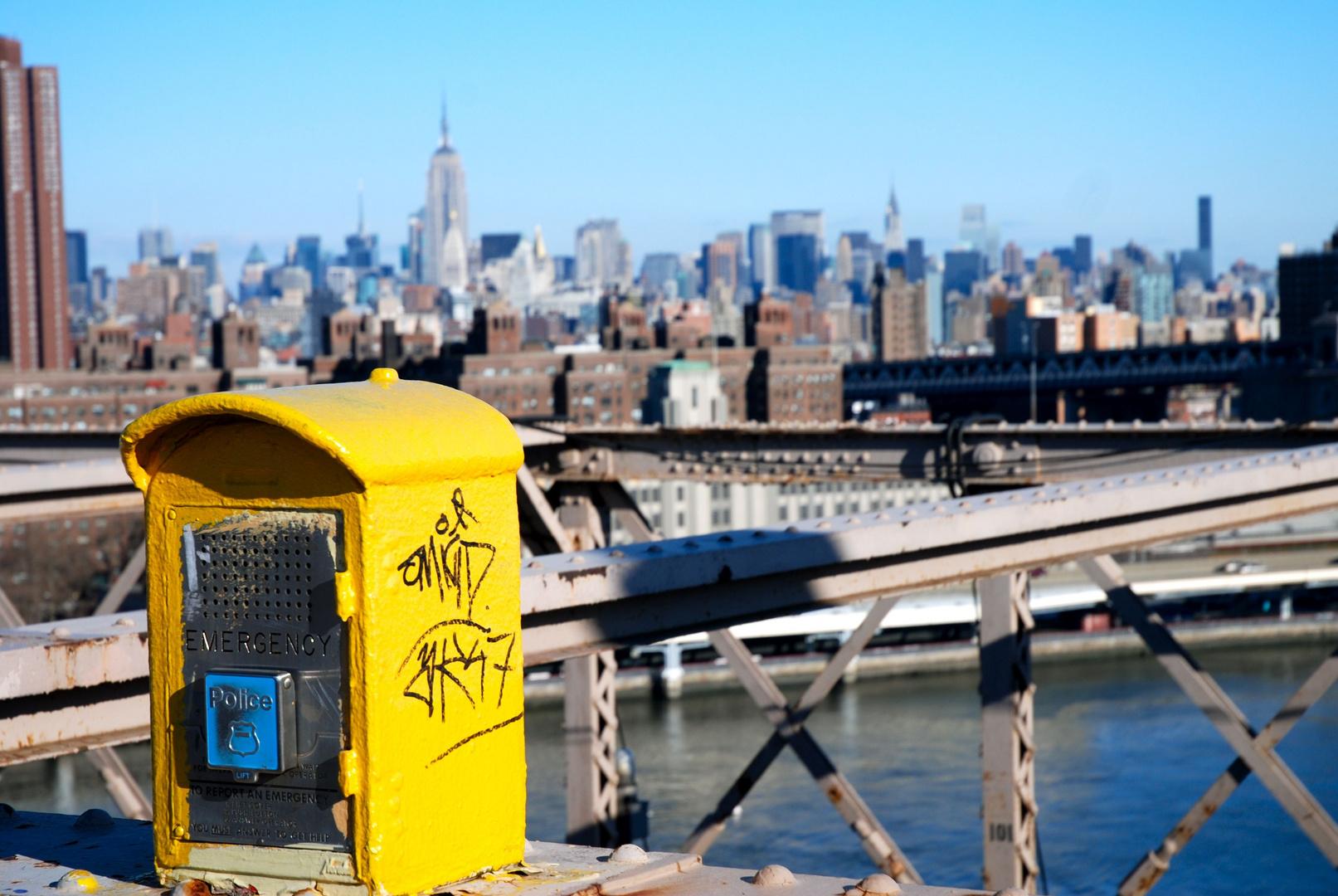 New-York from Brooklyn Bridge