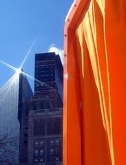 New York Gates and Skyline
