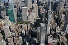 New York -Häuserschluchten in Down Town Manhattan-