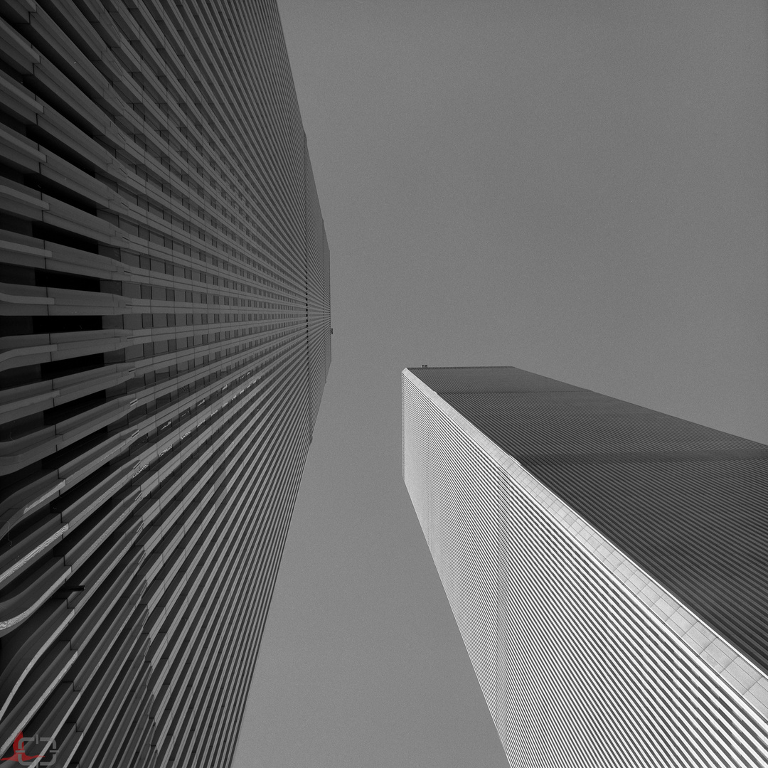 New York, Manhattan, World Trade Center 1999