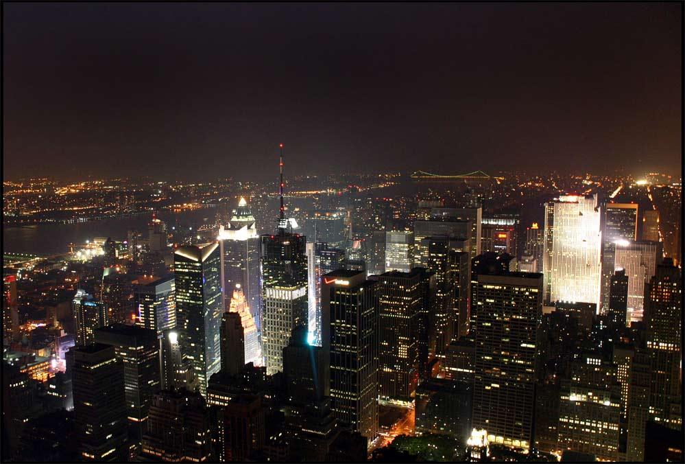 New York Moments #6 Blick vom Empire zum Times Square
