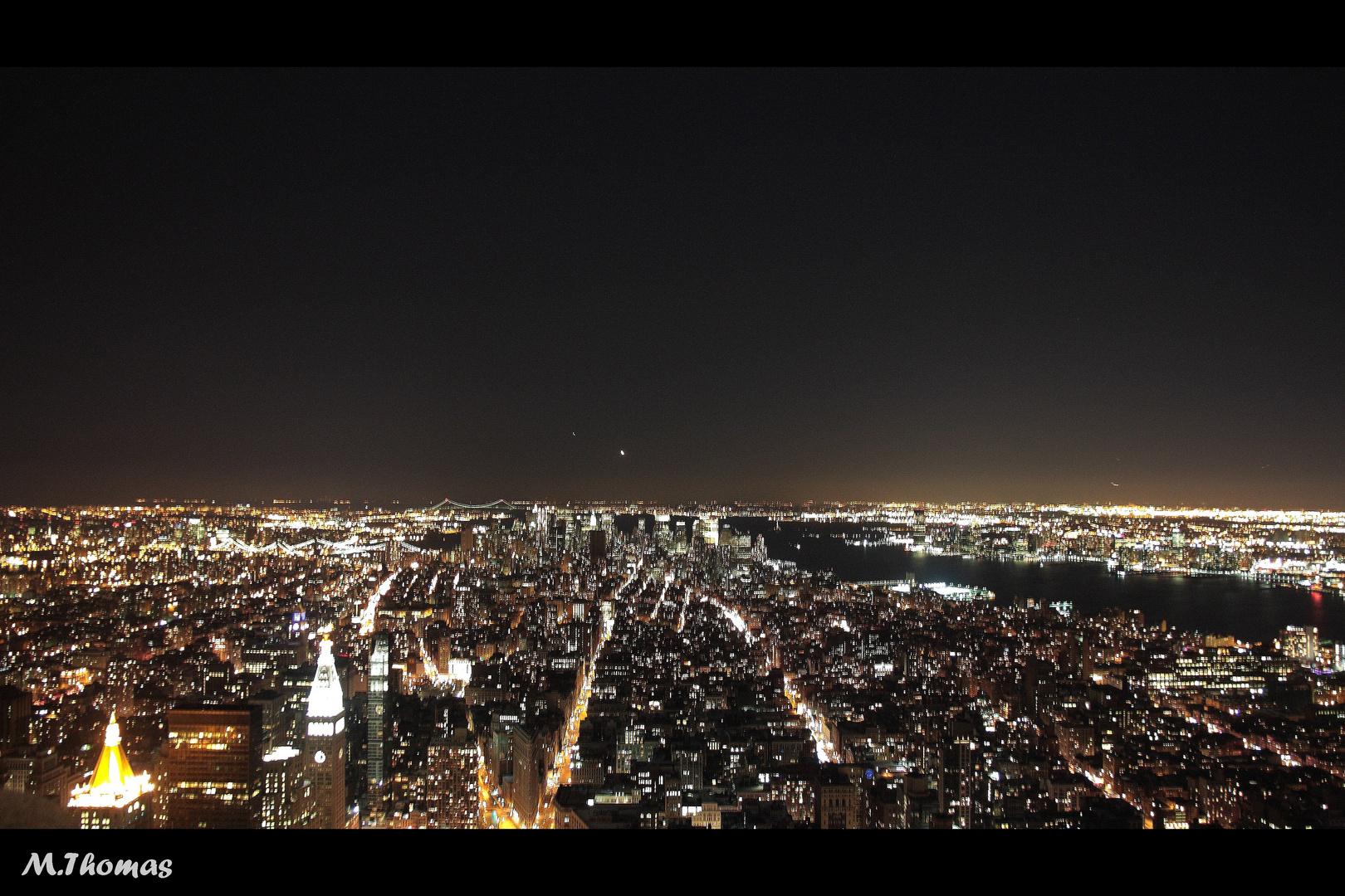 New York Nachtaufnahme
