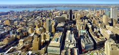 New York: Panoramic View from the Empire State Building