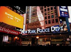 new york police department - times square