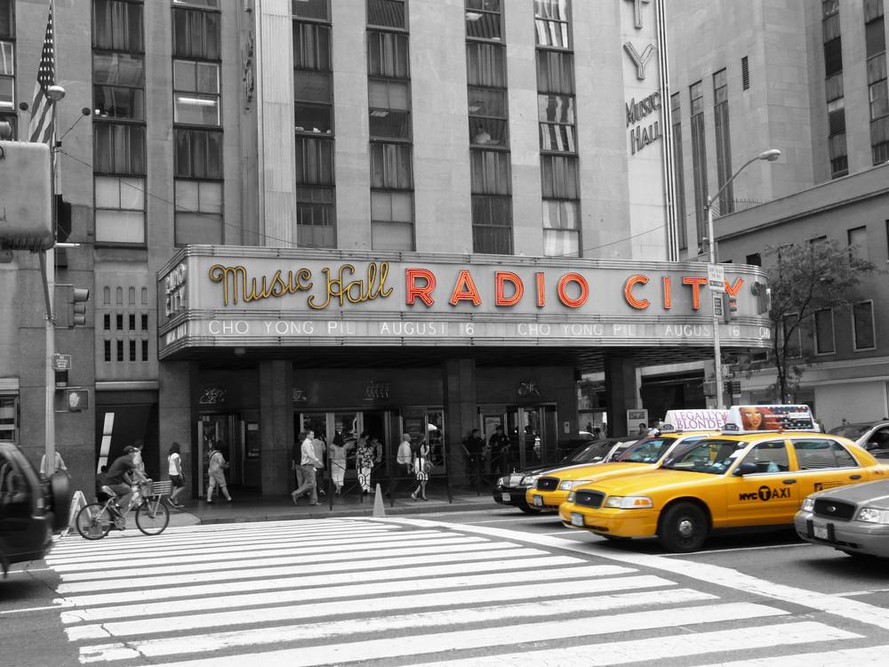 New York - Radio city music hall