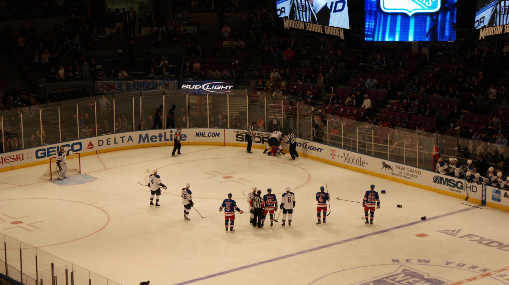New York Rangers - St. Lois