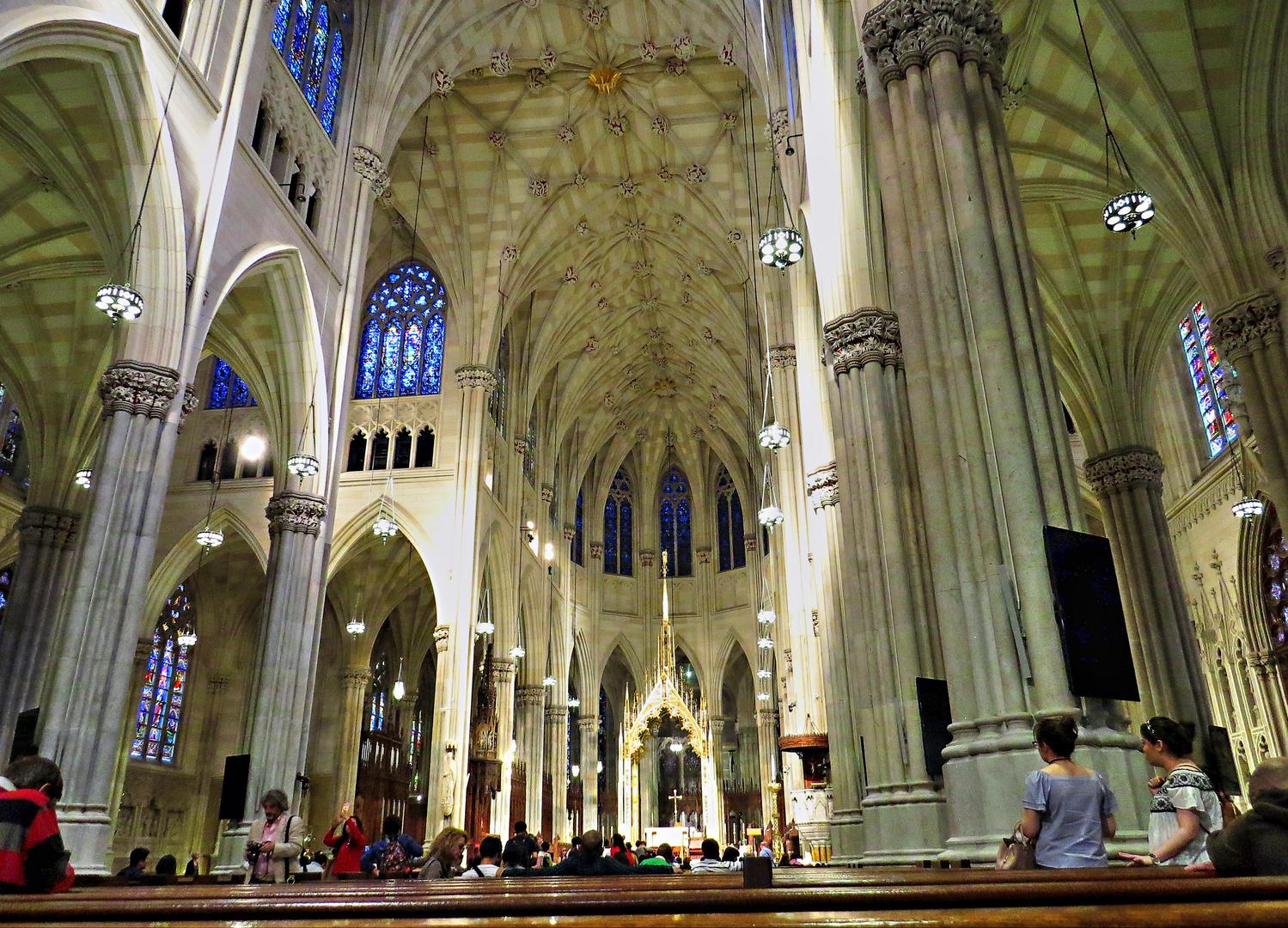 NEW YORK - Saint Patrick's Cathedral