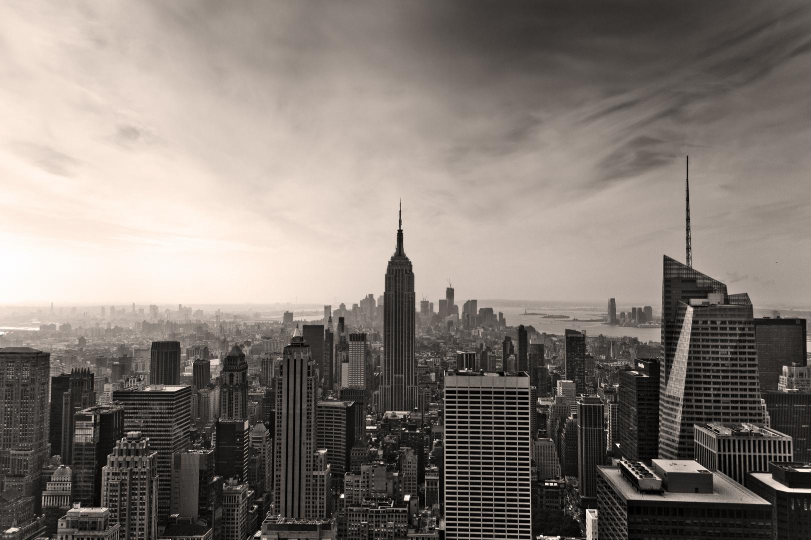 new york skyline foto bild architektur stadtlandschaft skylines bilder auf fotocommunity. Black Bedroom Furniture Sets. Home Design Ideas