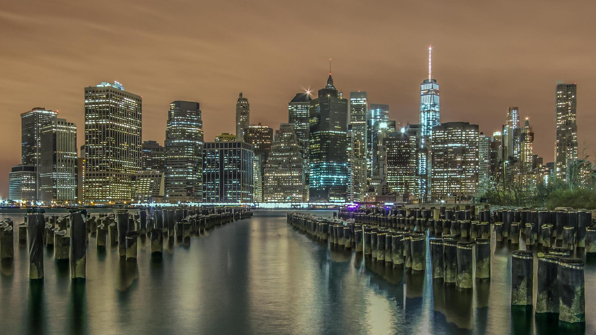 New York Skyline Foto Bild World Skyline New York