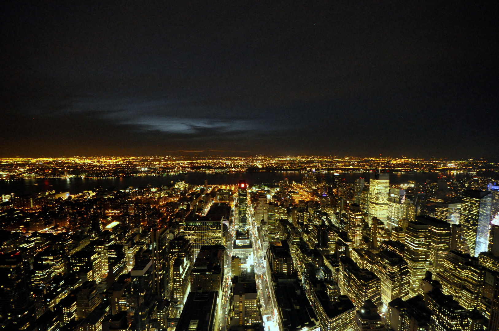 New York Skyline, Empire State Building Westwärts