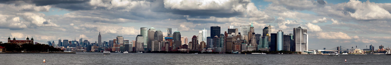 New York Skyline Panorama II