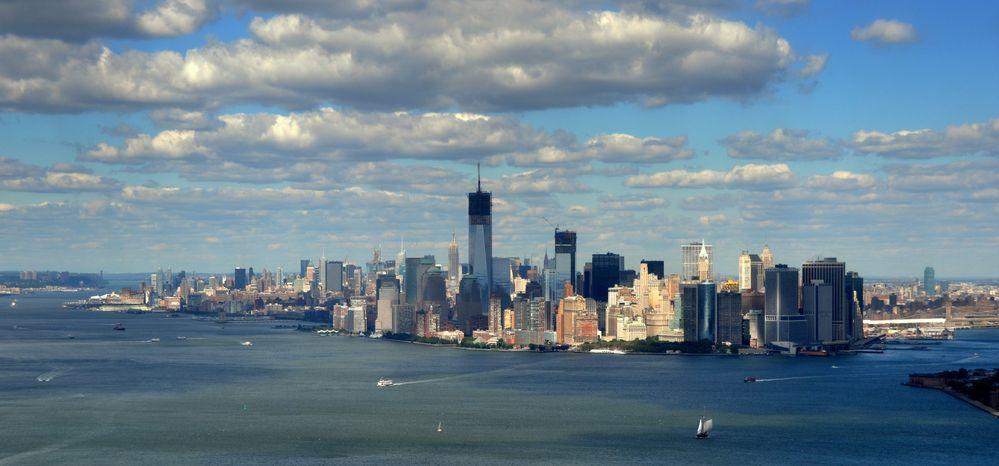 New York Skyline vom 10.09.2012