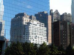 New York Spiegelung