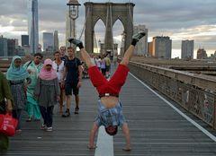 New York steht Kopf ...