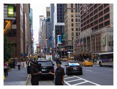 New York; Street Scene