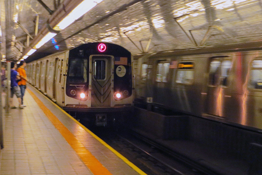 New York Subway R124A