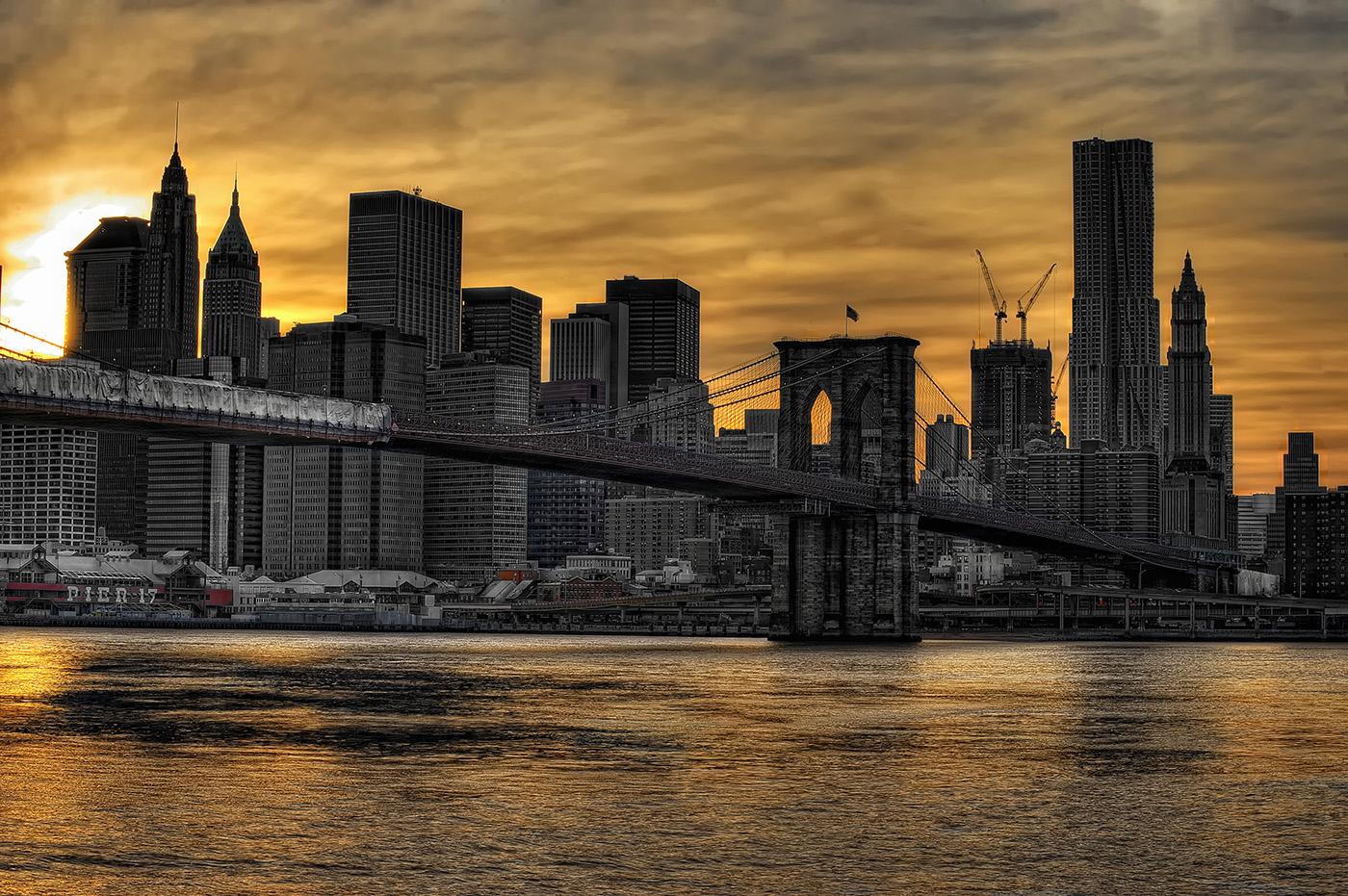 New York Sunset II